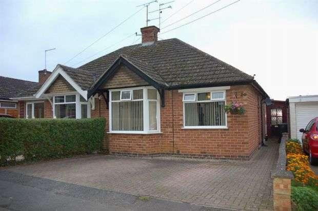 3 Bedrooms Semi Detached Bungalow for sale in Boughton Lane, Moulton, Northampton NN3 7RN