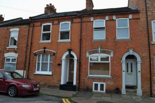 3 Bedrooms Terraced House for sale in Gray Street, The Mounts, Northampton NN1 3QQ