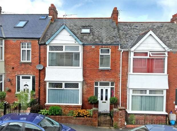 4 Bedrooms Terraced House for sale in Wyndham Avenue, Heavitree, EXETER, Devon