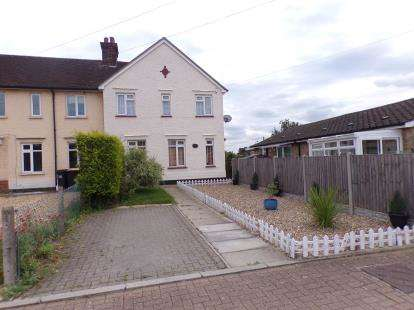 3 Bedrooms End Of Terrace House for sale in Roxton Road, Great Barford, Bedford, Bedfordshire