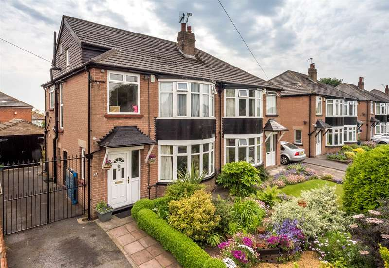 4 Bedrooms Semi Detached House for sale in Shadwell Walk, Leeds, West Yorkshire, LS17