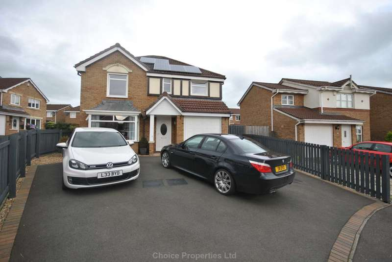 4 Bedrooms Detached House for sale in Rousay Wynd, Kilmarnock, KA3 2GP