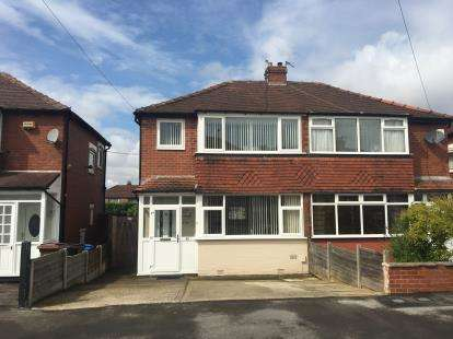 3 Bedrooms Semi Detached House for sale in Tennyson Road, Stockport, Greater Manchester