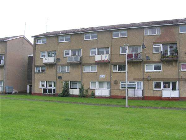 2 Bedrooms Flat for sale in Cruachan Road, Rutherglen, Glasgow
