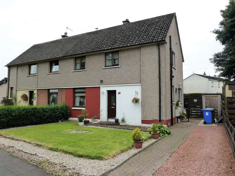 3 Bedrooms Semi Detached House for sale in Graham Avenue, Larbert