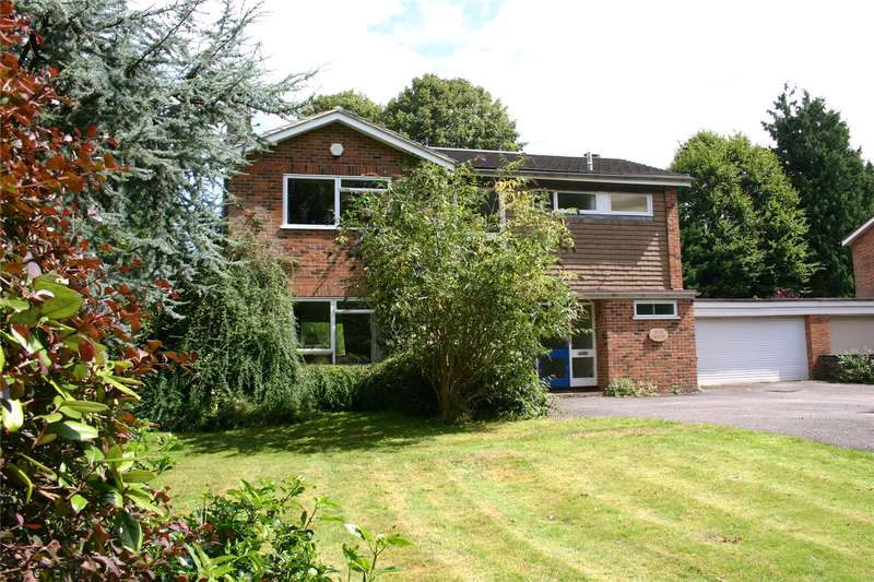 4 Bedrooms Detached House for sale in Crossways, Churt, Farnham, Surrey, GU10