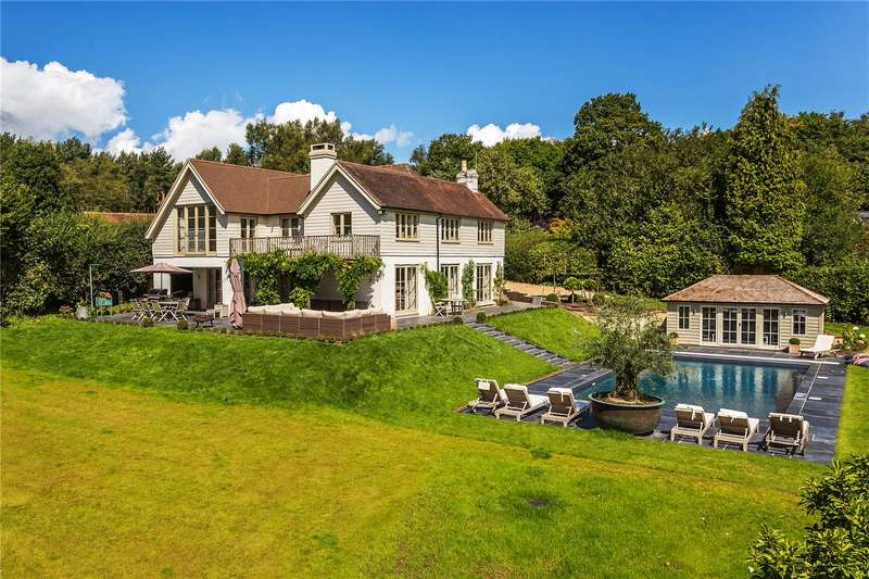 5 Bedrooms Detached House for sale in Duddleswell, Ashdown Forest, East Sussex, TN22