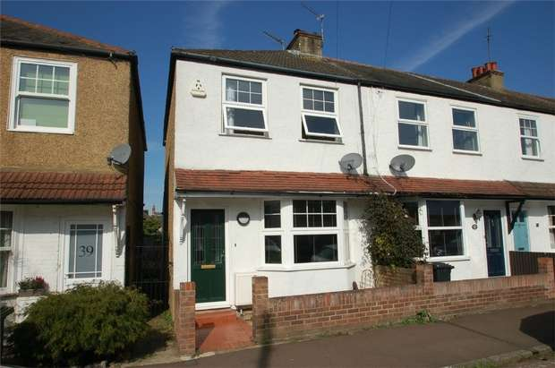 2 Bedrooms End Of Terrace House for sale in Wellington Road, St Albans, Hertfordshire