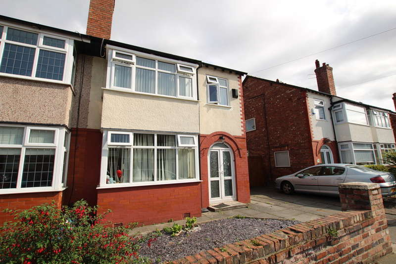 3 Bedrooms Semi Detached House for sale in Strathmore Drive, Crosby, Liverpool, L23