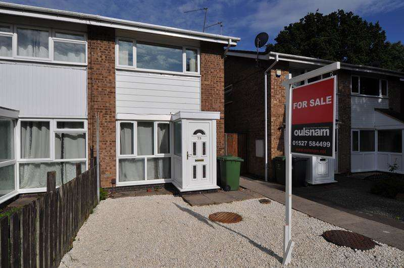2 Bedrooms Semi Detached House for sale in Donnington Close, Church Hill, Redditch