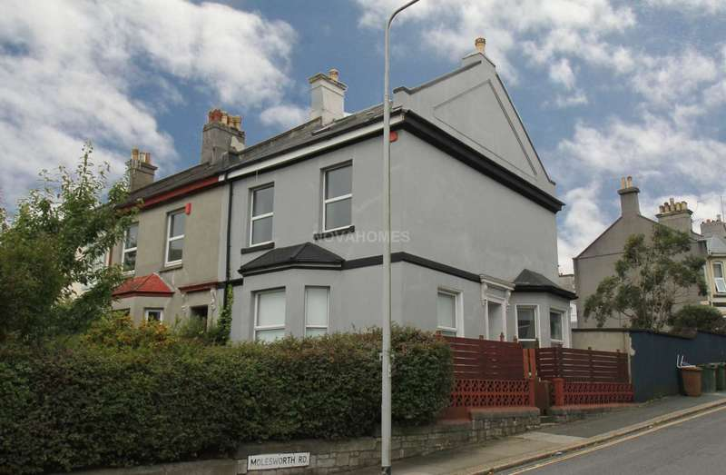 4 Bedrooms End Of Terrace House for sale in Valletort Terrace, Millbridge, PL1 5PT