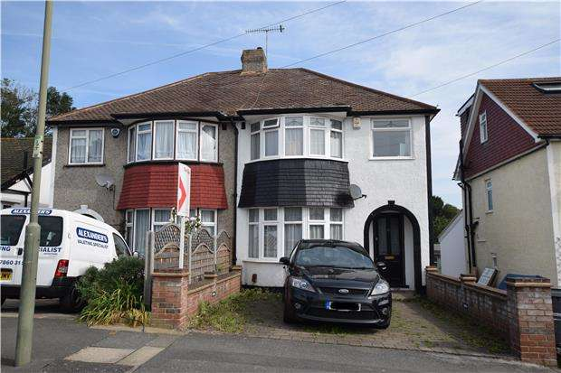 3 Bedrooms Semi Detached House for sale in Trentham Drive, ORPINGTON, Kent, BR5