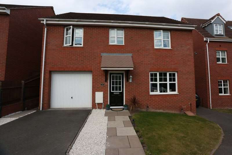 4 Bedrooms Detached House for sale in Bickon Drive, Brierley Hill, West Midlands, DY5