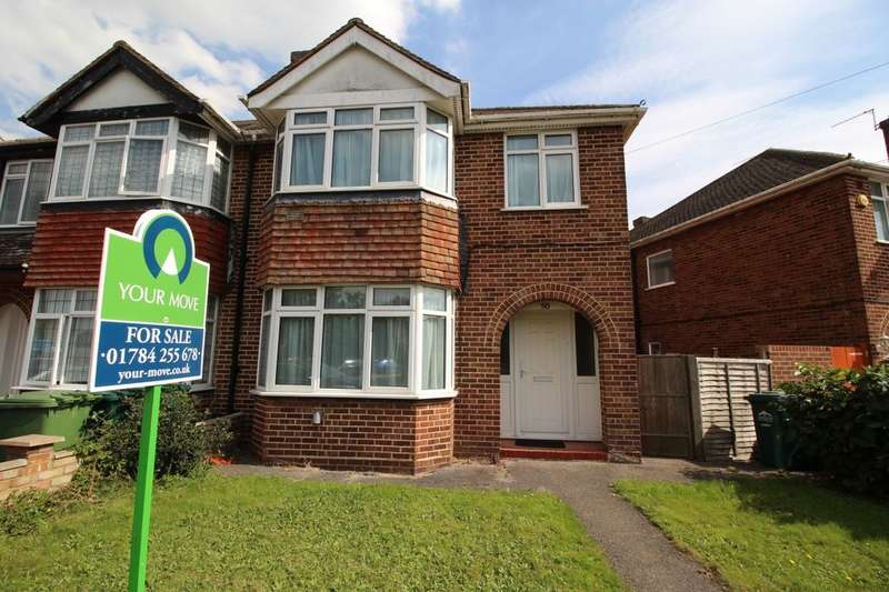 3 Bedrooms Semi Detached House for sale in Oaks Road, Staines-Upon-Thames, TW19