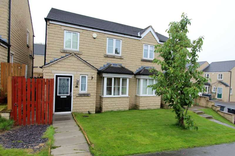 3 Bedrooms Semi Detached House for sale in Teasel Close, Liversedge