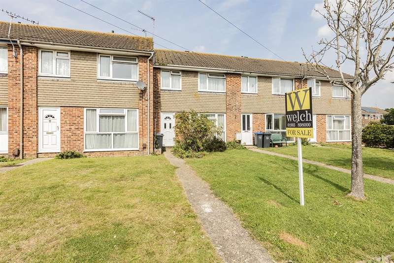 3 Bedrooms Terraced House for sale in Torridge Close, Durrington, Worthing, BN13 3PH