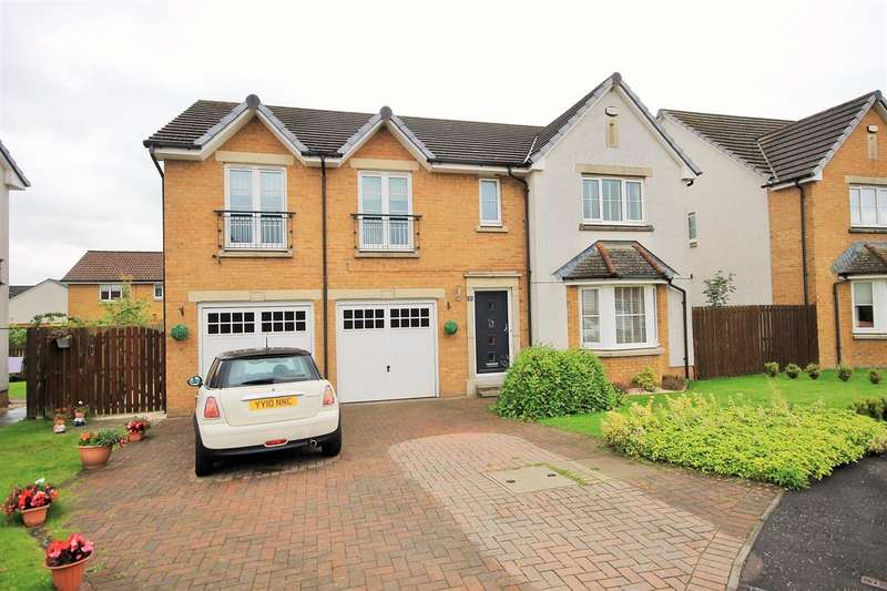 5 Bedrooms Detached House for sale in Rosewood Place, Coatbridge