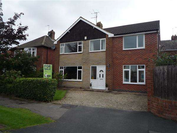 4 Bedrooms Detached House for sale in Lycett Road, Dringhouses, York