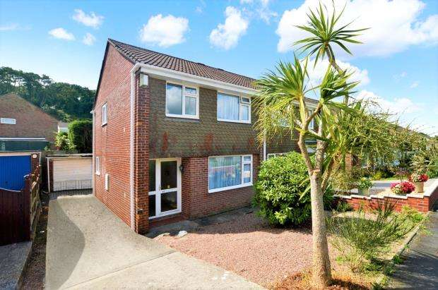 3 Bedrooms Semi Detached House for sale in Canefields Avenue, Plymouth, Devon