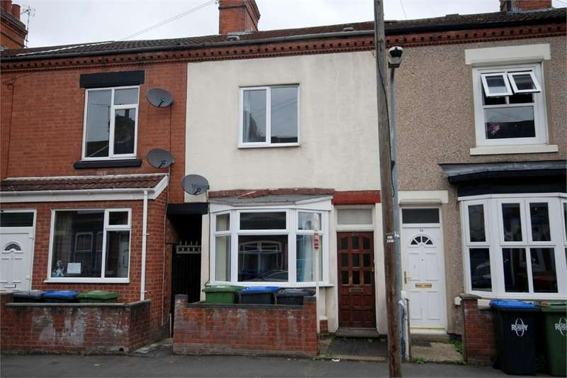 2 Bedrooms Terraced House for sale in Worcester Street, RUGBY, Warwickshire