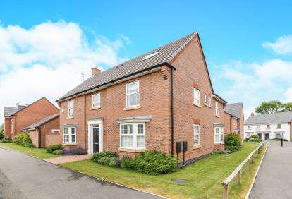 5 Bedrooms Detached House for sale in Shepherds Walk, Honeybourne, Evesham, Worcestershire