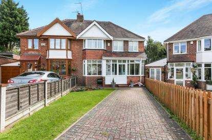 4 Bedrooms Semi Detached House for sale in Poston Croft, Kings Heath, Birmingham, West Midlands