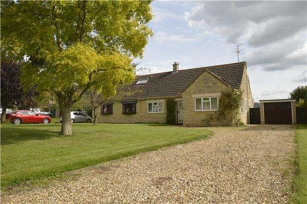 2 Bedrooms Semi Detached Bungalow for sale in The Lawns, Gotherington, CHELTENHAM, Gloucestershire, GL52 9QT