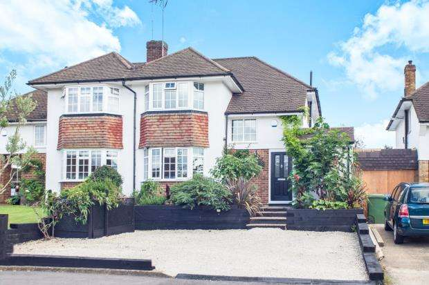 4 Bedrooms Semi Detached House for sale in Esher, Surrey
