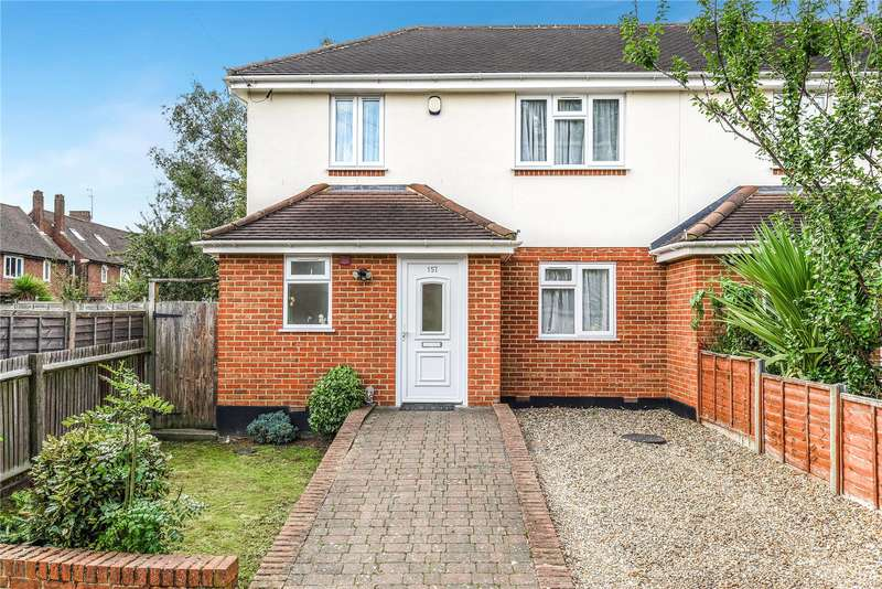 2 Bedrooms Semi Detached House for sale in Pine Gardens, Ruislip, Middlesex, HA4