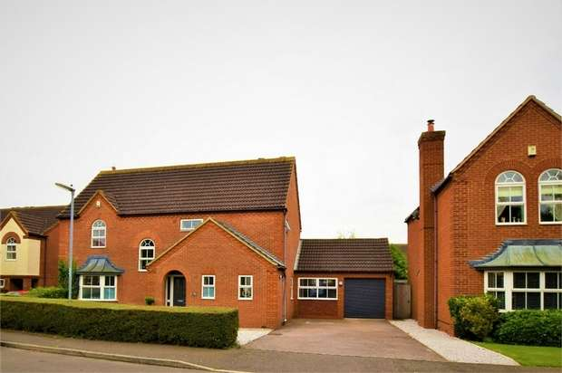 4 Bedrooms Detached House for sale in Hocknell Close, Wootton, NORTHAMPTON