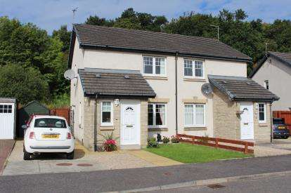 2 Bedrooms Semi Detached House for sale in Kirkside Crescent, Stirling