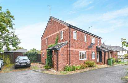 2 Bedrooms Semi Detached House for sale in Laburnum Drive, Evesham, Worcestershire