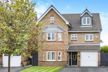 5 Bedrooms Detached House for sale in Madison Park, Westhoughton, Bolton, Greater Manchester, BL5