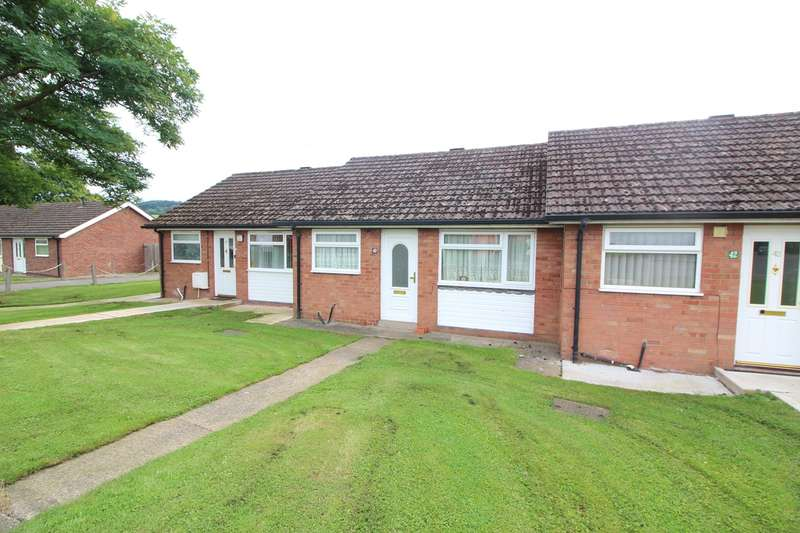 1 Bedroom Terraced Bungalow for sale in St Teilos Road, ABERGAVENNY, NP7