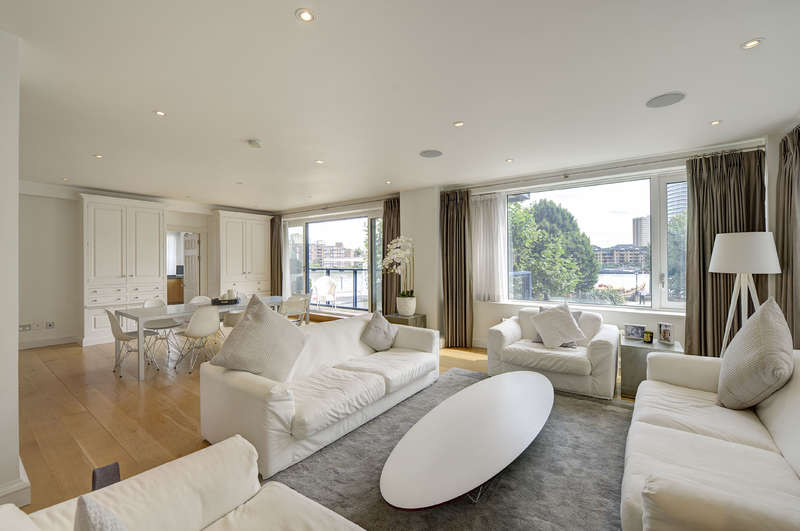 4 Bedrooms Apartment Flat for sale in The Belvedere, Chelsea Harbour, Chelsea