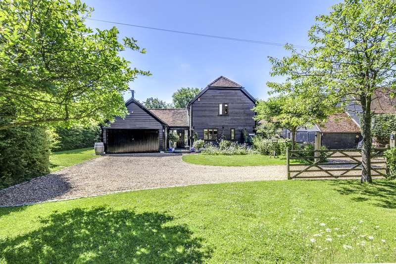 4 Bedrooms Barn Conversion Character Property for sale in Bonwycks Place, Ifield Wood, West Sussex, RH11