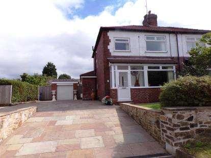 3 Bedrooms Semi Detached House for sale in Upper Hibbert Lane, Marple, Cheshire