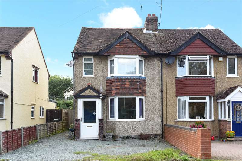 2 Bedrooms Semi Detached House for sale in Denham Way, Maple Cross, Hertfordshire, WD3