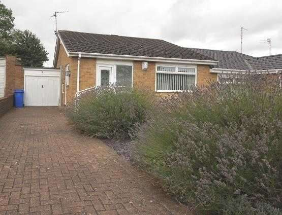 2 Bedrooms Bungalow for sale in Totnes Drive, Parkside Grange, Cramlington