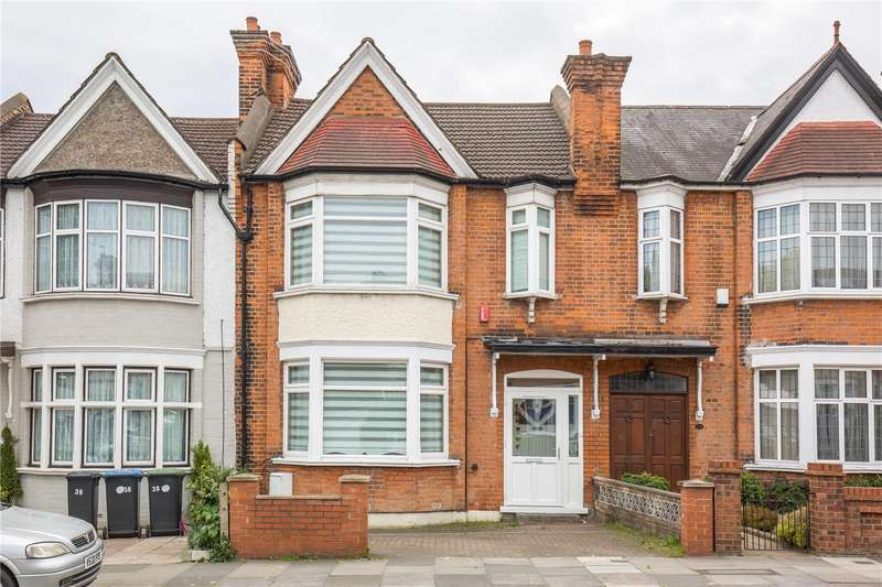 4 Bedrooms Terraced House for sale in Hedge Lane, Palmers Green, London, N13