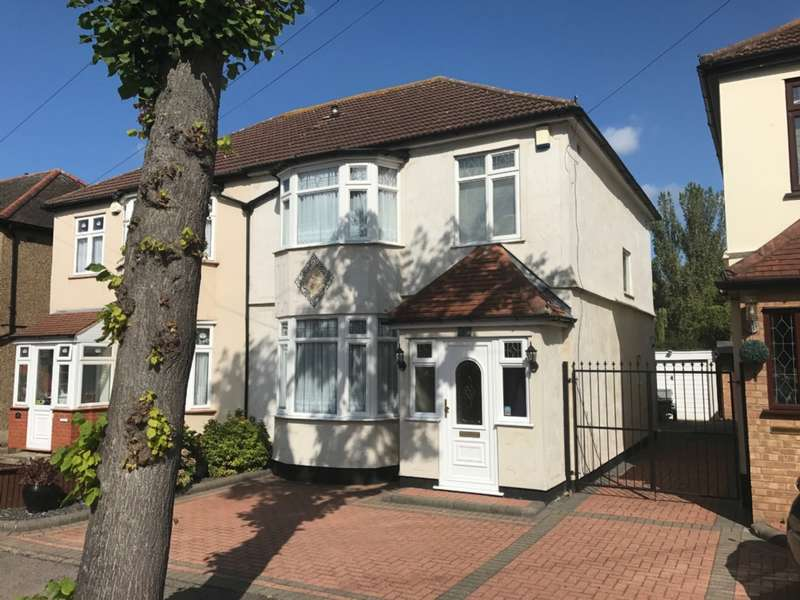 3 Bedrooms Semi Detached House for sale in Hillcrest Road, Hornchurch