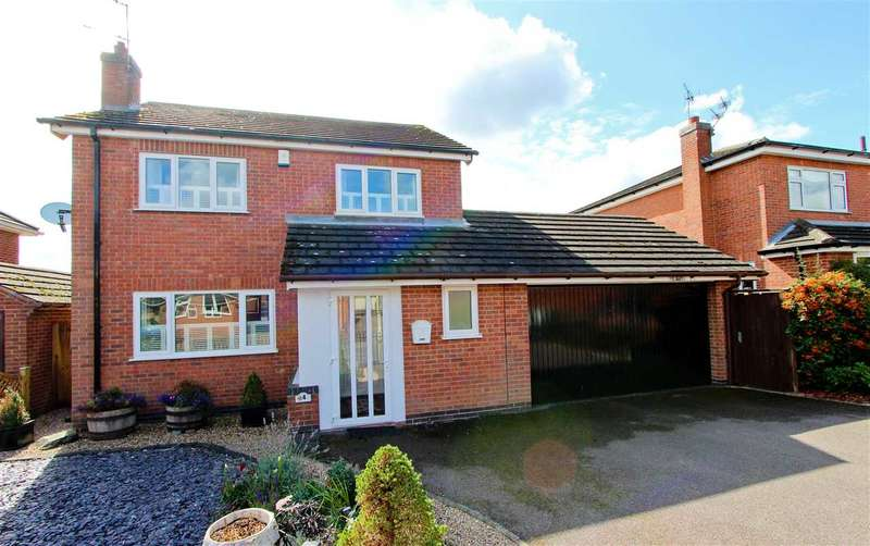 4 Bedrooms Detached House for sale in Broadway Thurlong, Anstey