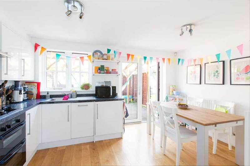 3 Bedrooms Terraced House for sale in Hither Farm Road, London