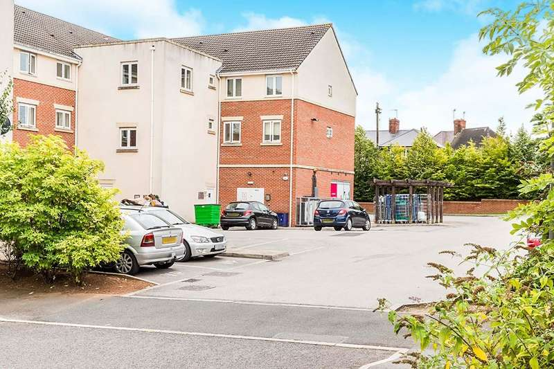 2 Bedrooms Flat for sale in Horse Chestnut Close, Chesterfield, S40
