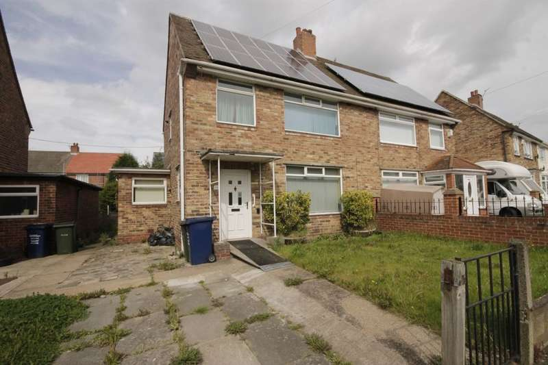 3 Bedrooms Semi Detached House for sale in Southmead Avenue, Newcastle Upon Tyne, NE5