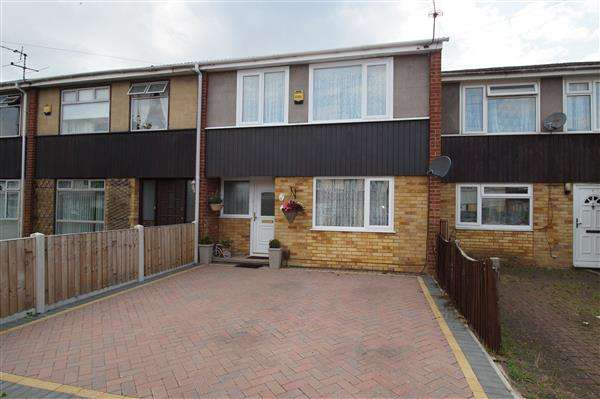 3 Bedrooms Terraced House for sale in Robin Hood Close, Cippenham, Slough