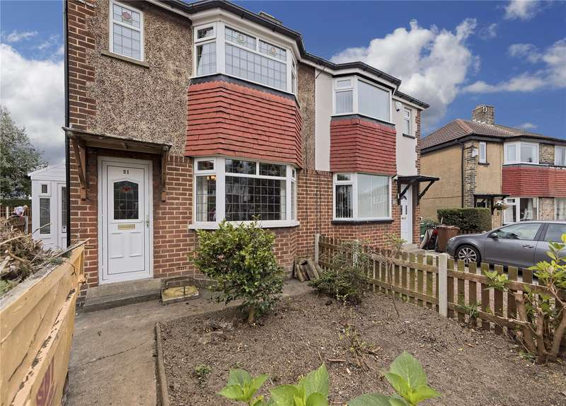 2 Bedrooms Semi Detached House for sale in Hill Court Drive, Leeds, West Yorkshire, LS13
