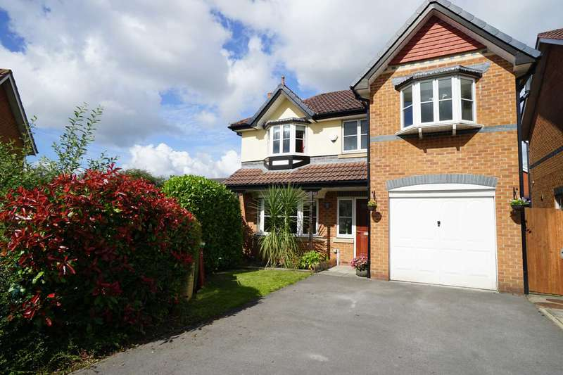 4 Bedrooms Detached House for sale in Newbeck Close, Horwich