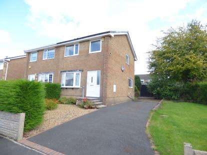 3 Bedrooms Semi Detached House for sale in Lancaster Drive, Padiham, Burnley, Lancashire