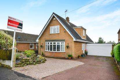4 Bedrooms Detached House for sale in Chestnut Avenue, Ravenshead, Nottingham, Nottinghamshire